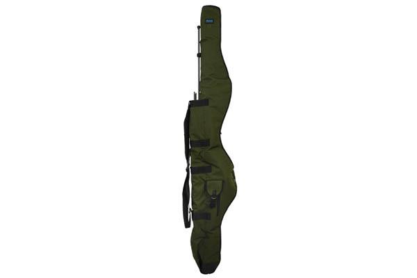 AQUA Púzdro na prúty - Compact Tristar 3 Rod 12ft Black Series (195x42x12cm)