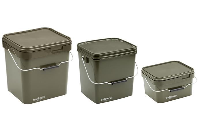 Trakker Plastový box - 17 Ltr Olive Square Container