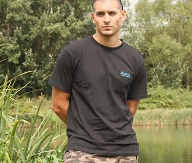 AQUA Tričko - Black T-Shirt - XXL