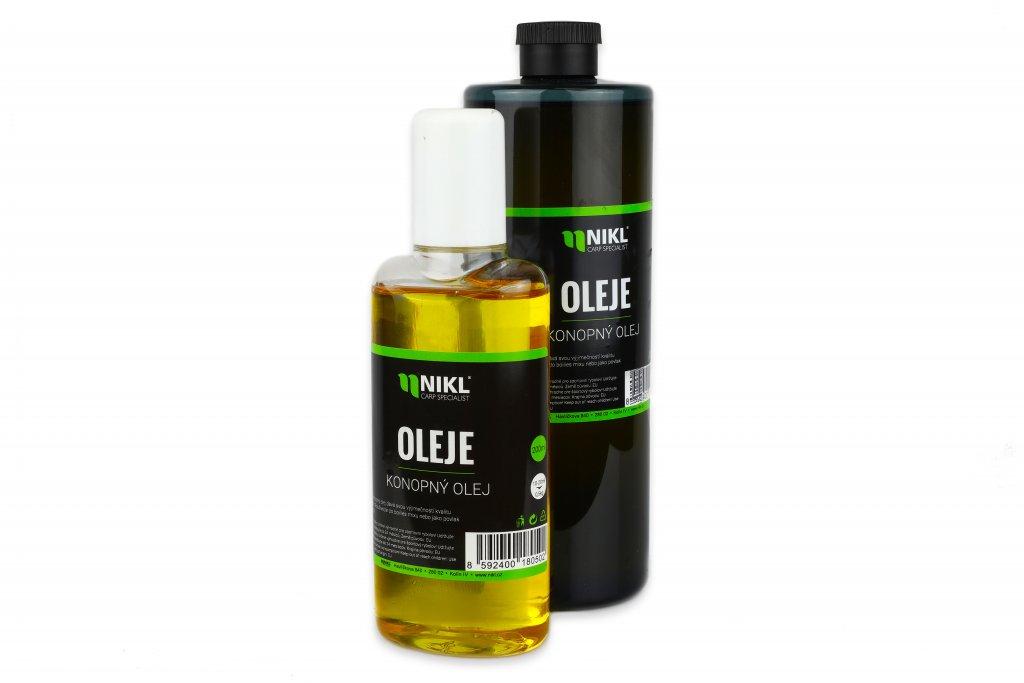 NIKL Konopný olej 100% Natur - 500ml