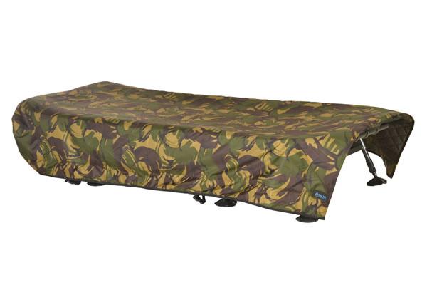AQUA Nepromokavý prehoz na lehatko - Camo Bedchair Cover (200x85cm)