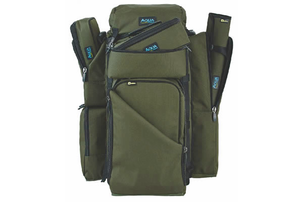 AQUA Batoh - Large Rucksack Black Series