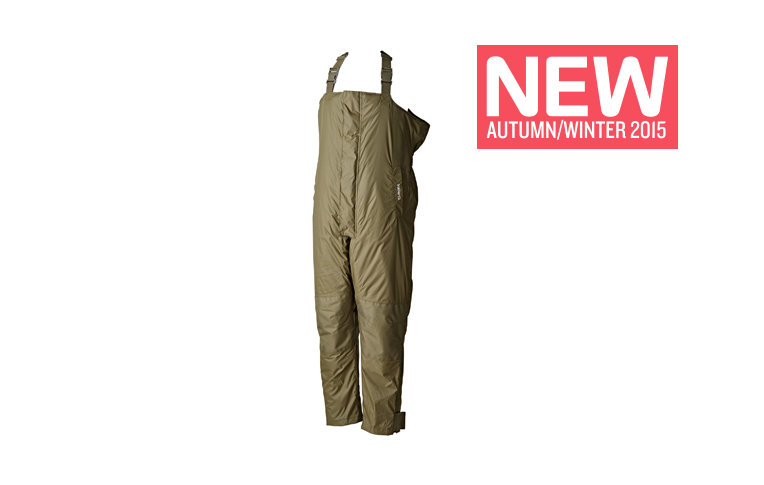 Vodělodolné zimní kalhoty - Trakker Elements Bib and Brace