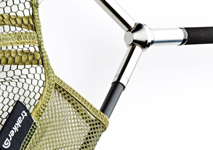 Podběrák Trakker - EQ dvoudílný Landing Net - Olive Mesh