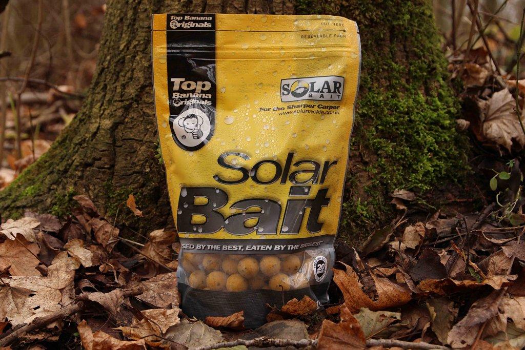 SOLAR Top Banana Boilie (Caramel Toffee) 20 mm 1 kg
