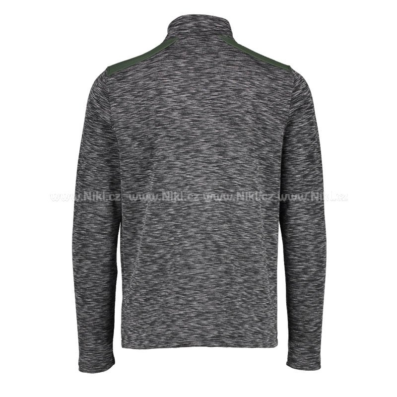 Rolák AQUA - Funnel Neck Charcoal Mid Layer