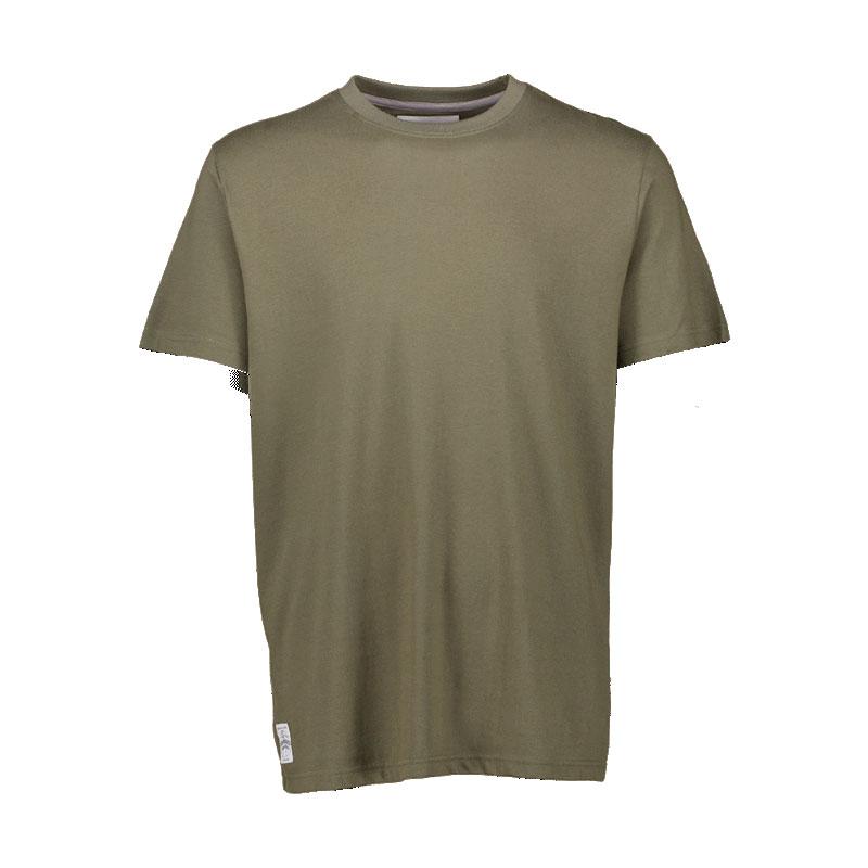 AQUA Tričko - Big Logo Khaki T-Shirt - S
