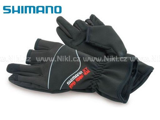 Rukavice SHIMANO HFG XT Winter Gloves vel. L