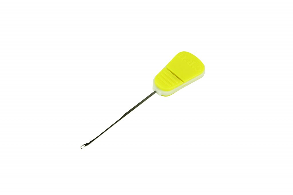 Boilie jehla CRU/Baiting needle – Splicing fine needle – Yellow