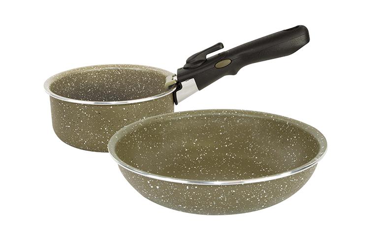 TRAKKER Sada nádob - Armolife  Marble Cookset - Compact