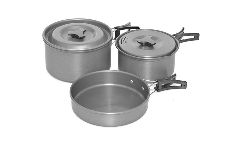 Trakker Sada nádobí - Armolife Cookware Set- 3 Piece
