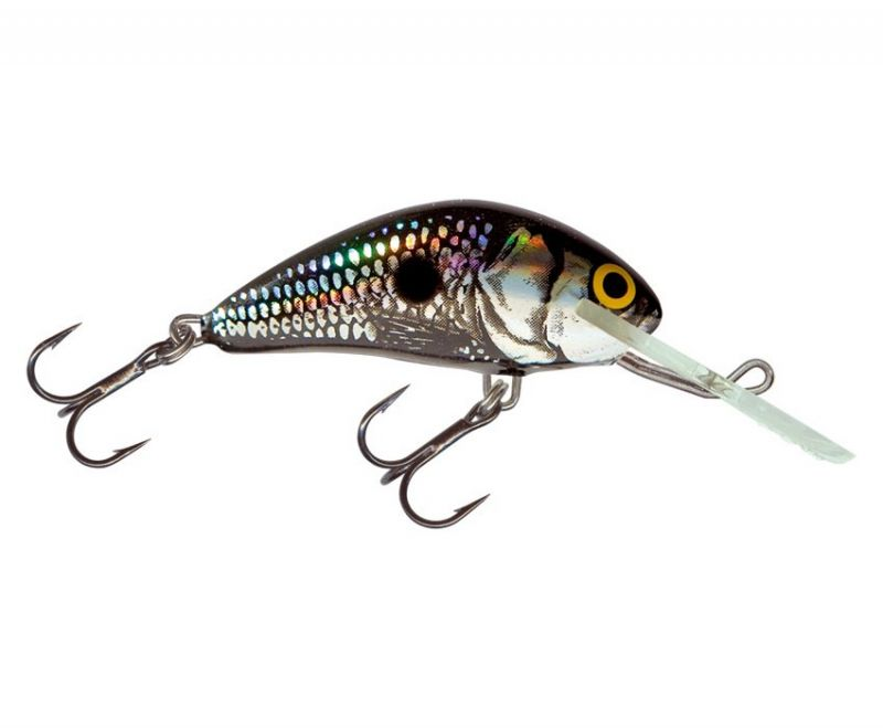 Salmo Wobler - Hornet 6S Black Silver Shad