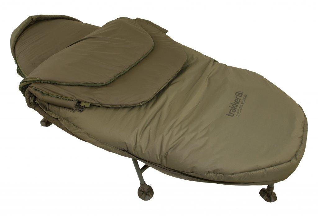 TRAKKER Lehatko + Spací vak - Levelite Oval Bed System v2