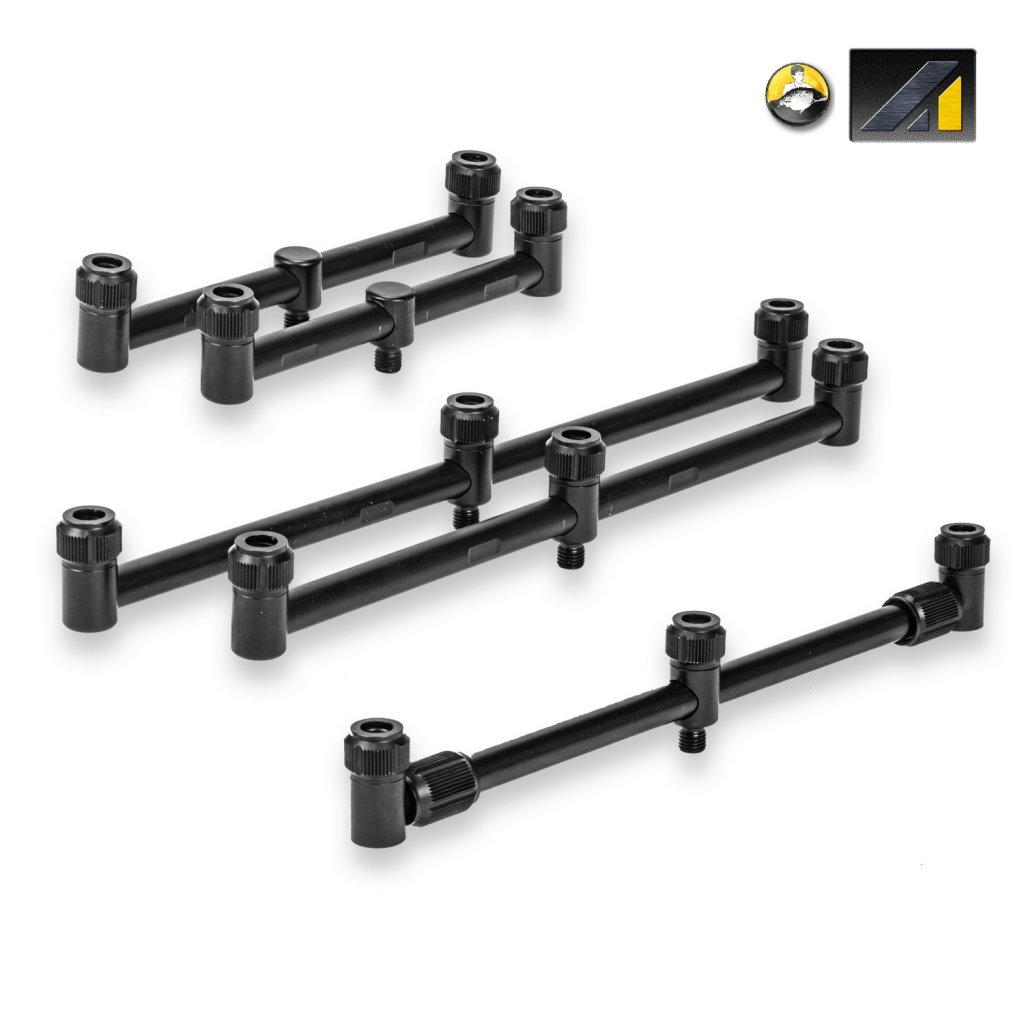 Hrazda na 3 pruty zadní - A1 Aluminium 3-Rod Adjustable Buzz Bar - Front