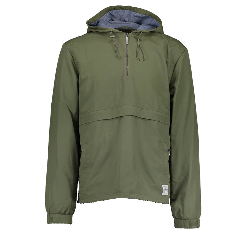 Bunda - Half Zip Khaki Jacket L