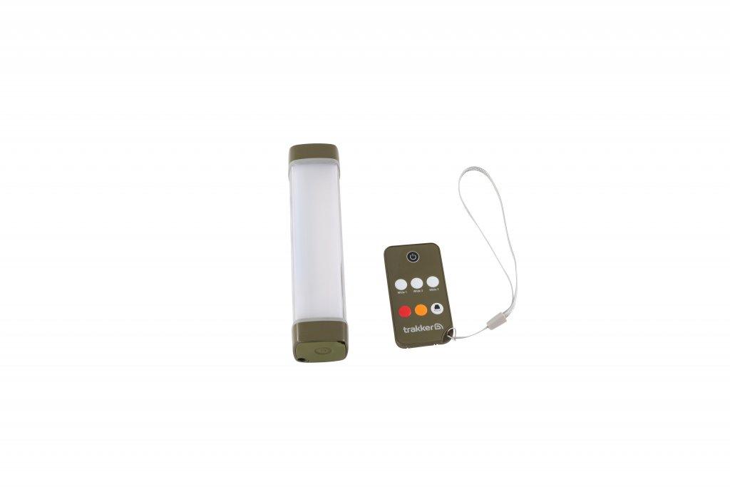 TRAKKER svetlo s ovládačom - Nitelife Bivvy Light Remote 150 (150×36×36mm)