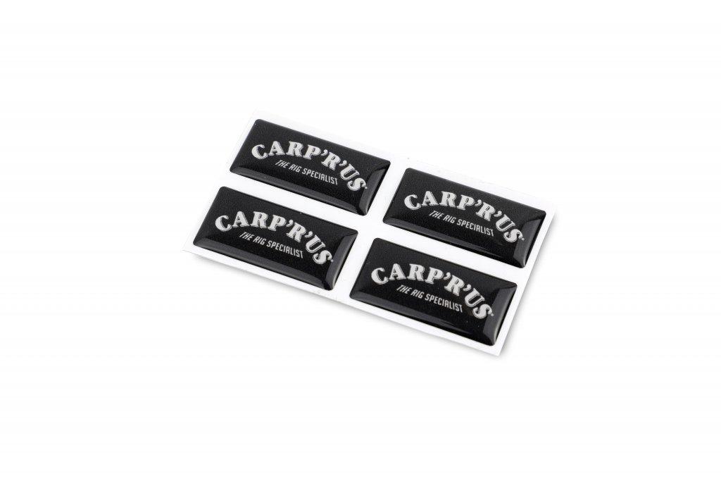 CARP'R'US 3D Samolepka Carp´R´Us - 4ks (3x1.5cm)