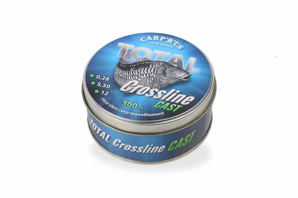 CARP'R'US Total Crossline Cast Green - 0.28mm/300m/5.5kg/12lb
