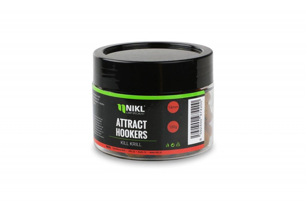 Rozpustné dumbells NIKL Attract Hookers Kill Krill 18 mm 150 g