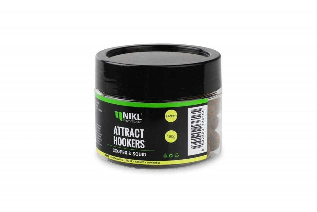 Rozpustné dumbells NIKL Attract Hookers Scopex & Squid 18 mm 150 g