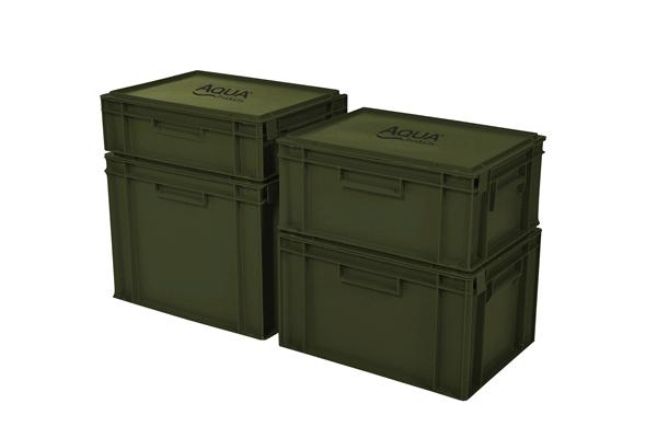 AQUA Uzatvárateľný stohovateľný box - Staxx 10L